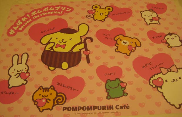Pompompurin Café Harajuku