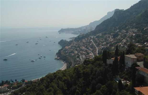 Vista desde Roquebrune