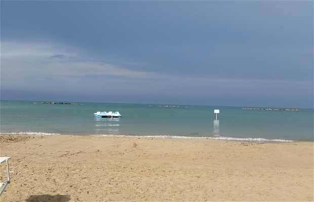 Pescara beach