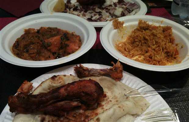 Tandoori indian food Quartu