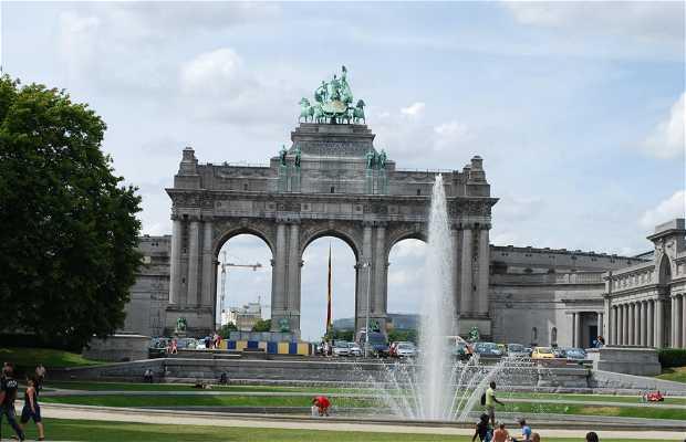 Arco del trionfo di Bruxelles
