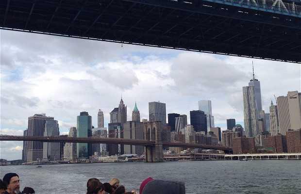 Vista de Manhattan desde New Jersey