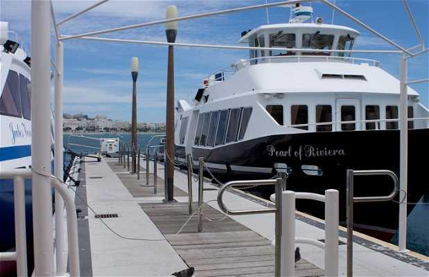 Barco hasta la isla de Santa Margarita