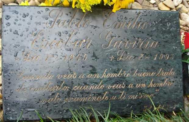 Pablo Escobar Grave Site