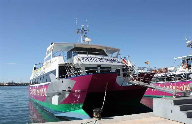 Barca per l'isola di Tabarca