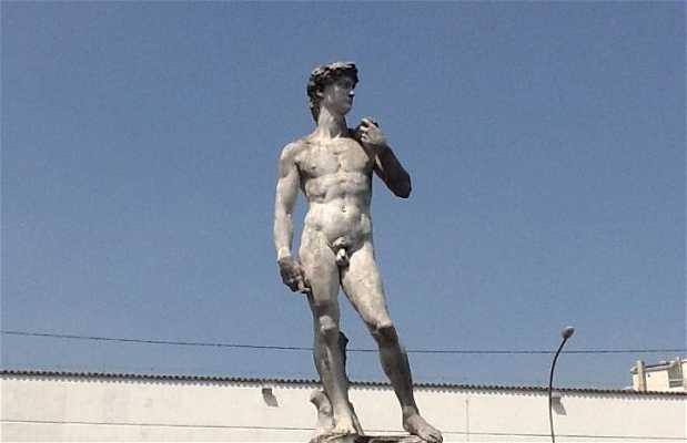 Escultura Davi