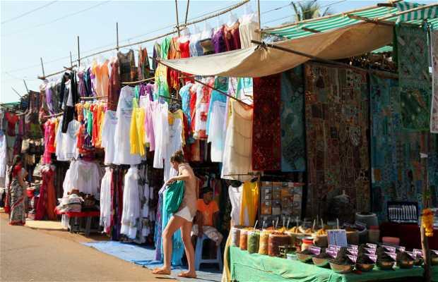 Mercado de Anjuna