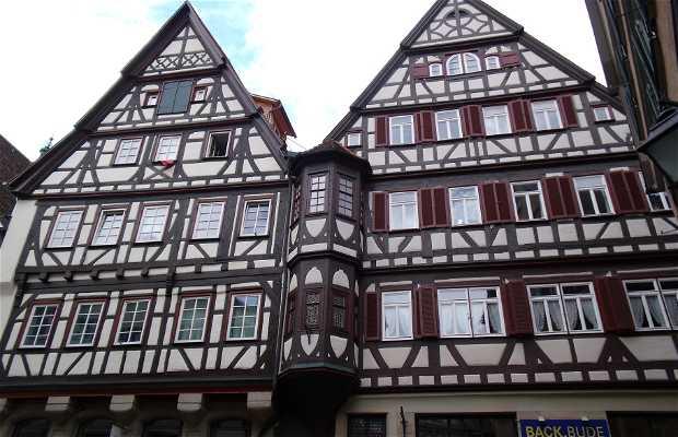 Subida al Schloss Hohentübingen