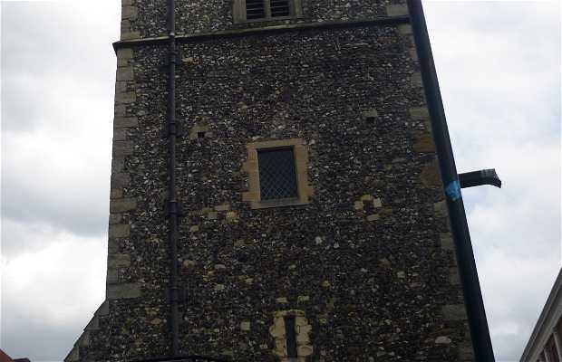 torre del reloj de Canterbury