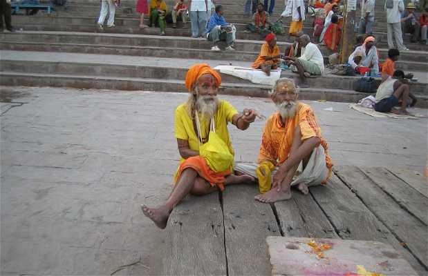 Shadus en Varanasi