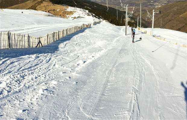 Estación de esquí Cerdagne Puigmal