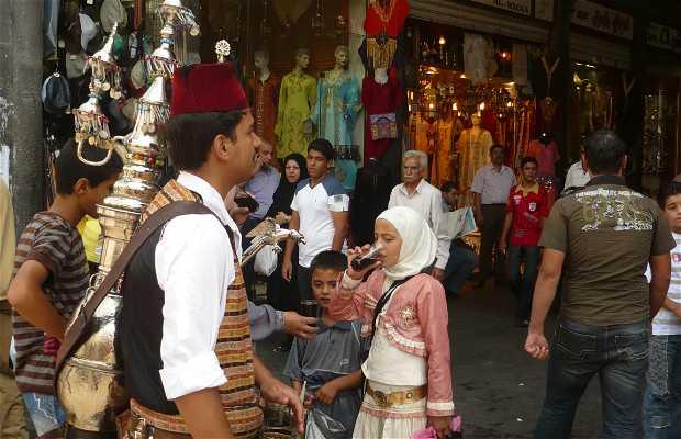 Il mercato Al-Hamidiyya a Damasco