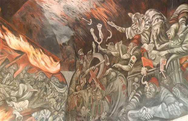 Mural hidalgo incendiario en guadalajara 2 opiniones y 3 for Aviso de ocasion mural guadalajara