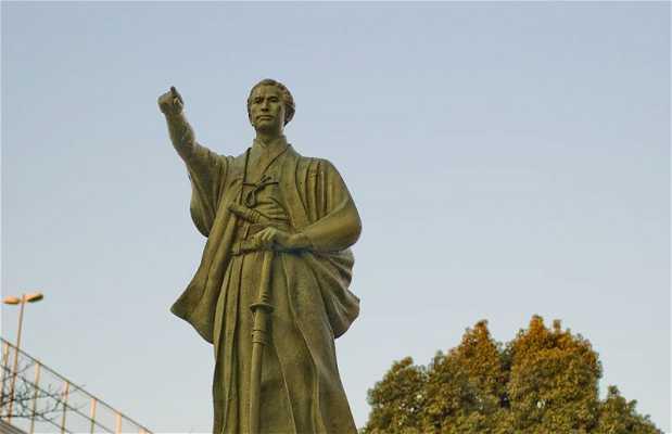 Estatua de Katsu Kaishu