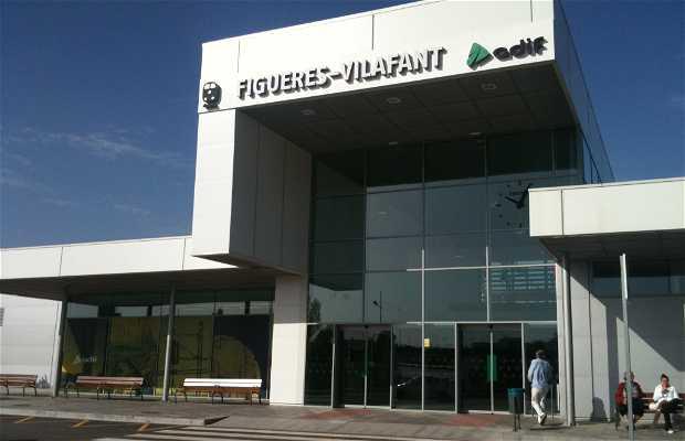 Estación AVE Figueras-Vilafant