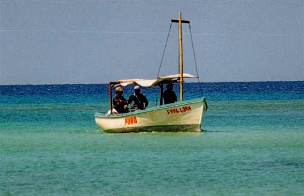 Playa en Holguín
