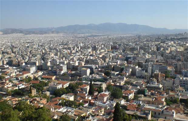 Viste dall'Acropoli di Atene