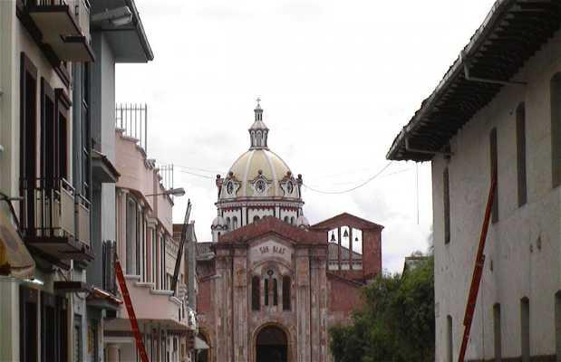 Centro histórico de Santa Ana de los ríos de Cuenca