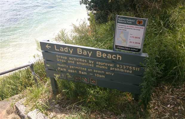 Lady bay beach