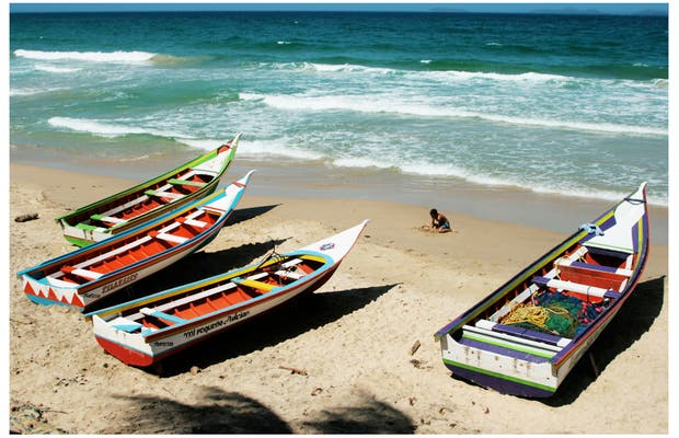Spiaggia El Tirano a Isla Margarita in Venezuela