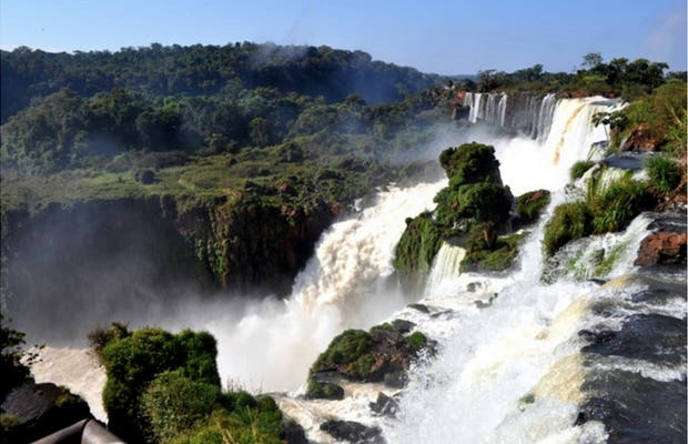 Paseio Superior na Cataratas do Iguaçú