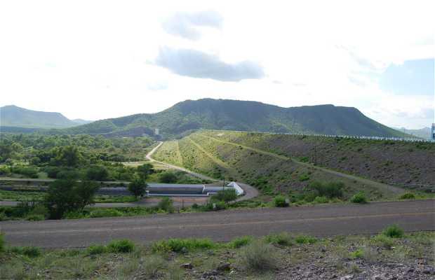 Alvaro Obregon Dam Viewpoint