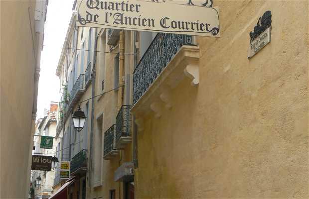 Rue de l'ancien courrier