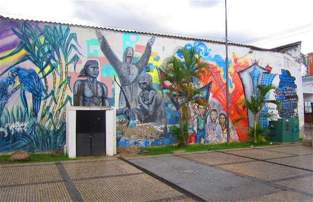 Murales de Santa Cruz
