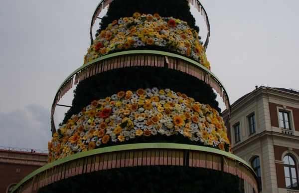 Monumento à primeira árvore de Natal