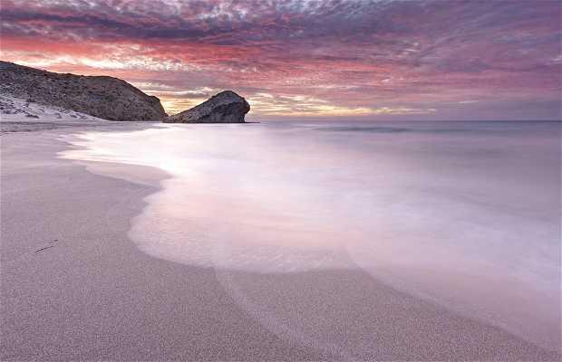 Praia de El Mónsul