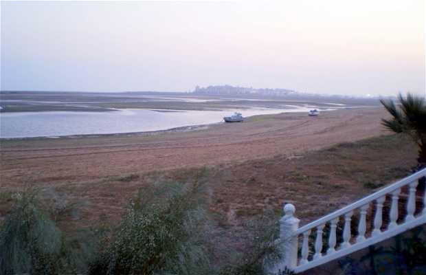 Spiaggia El Cantil a Isla Cristina in Spagna