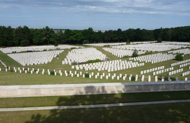 Cementerio militar de Etaples