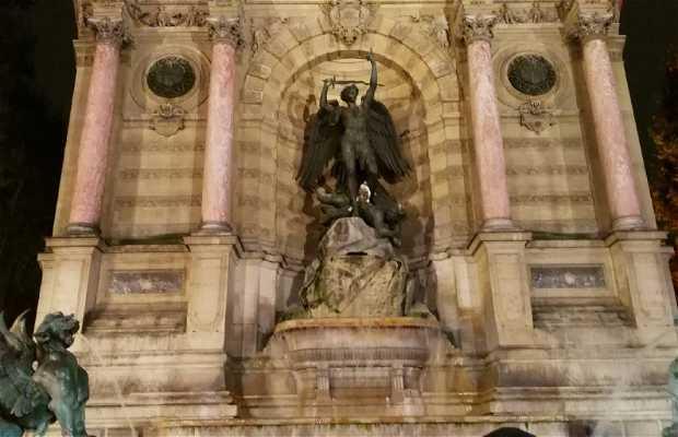 Fuente Saint-Michel