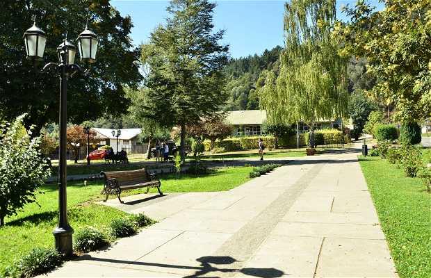 Plaza de armas de Contulmo
