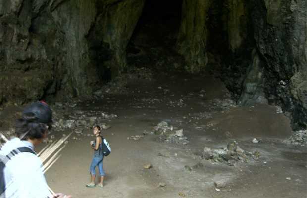 Sentier vers la Grotte des colombes