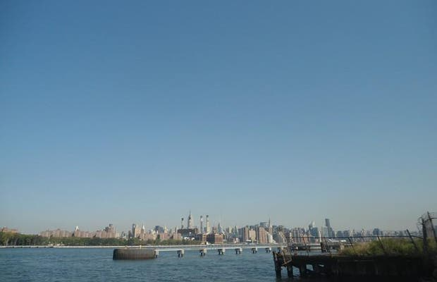 Vue sur Manhattan depuis Williamsburg