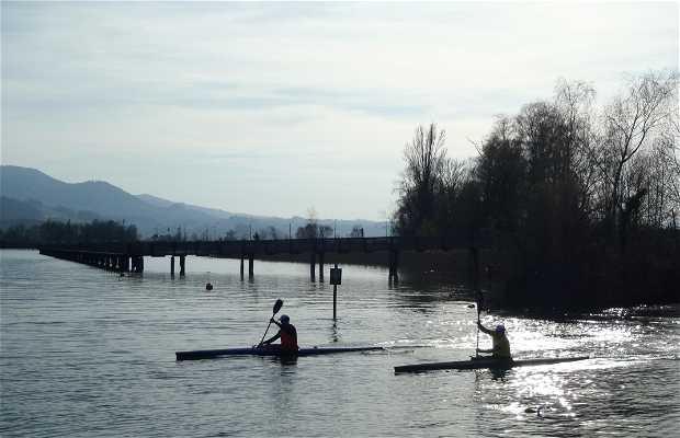 Lago de Zürich, extremo superior (zona Rapperswil-Jona)