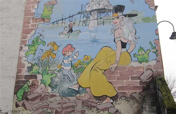 Mural de Isabelle & Calendula - Will