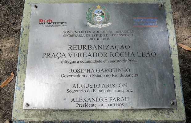 Praça Vereador Rocha Leão