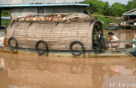 Vila Flutuante no Lago Tonlé Sap