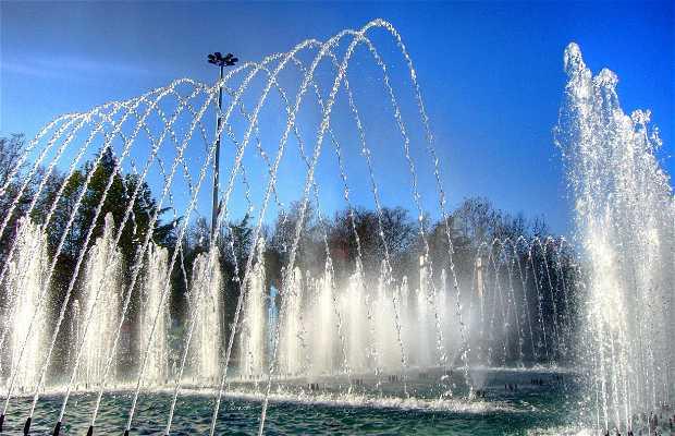La fuente - Reloj del Paseo Zorrilla