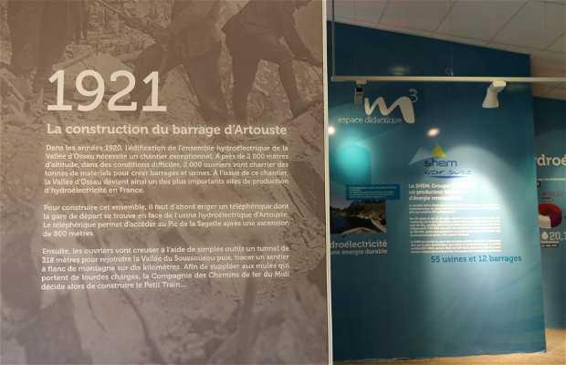 Museo del tren de Artouste