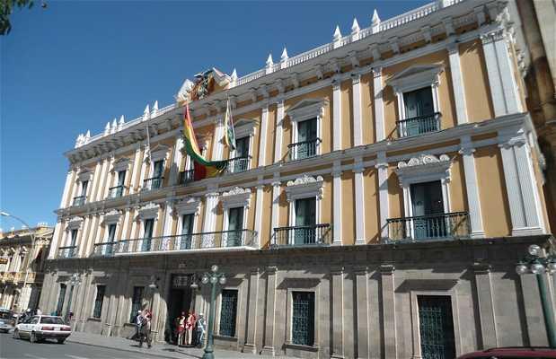 Le palacio de gobierno