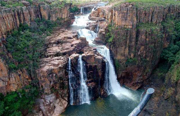 Cascate Jim Jim e Twin Falls, Australia