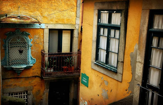 Il quartiere Do Barredo a Oporto