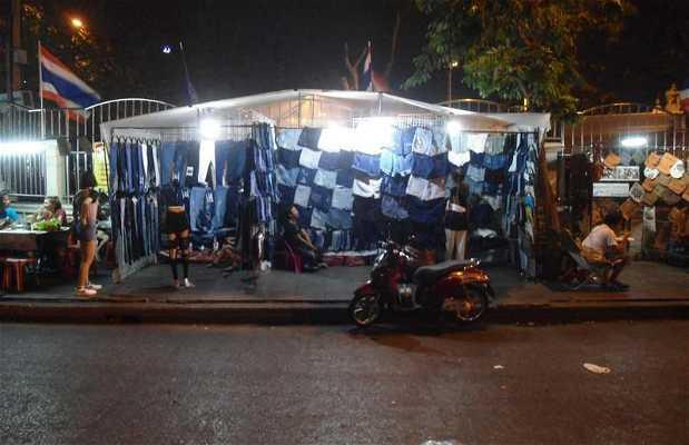 Mercado de noche de Bangkok
