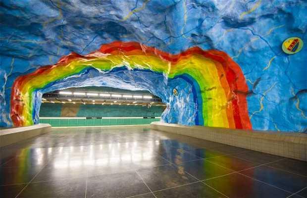 Estación de metro Stadion
