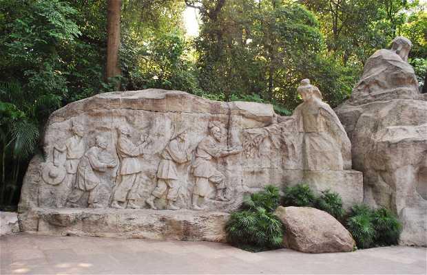 I cinque geni di pietra a Guangzhou