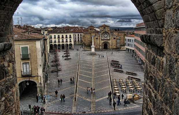 Resultado de imagen de plaza del mercado grande o santa teresa