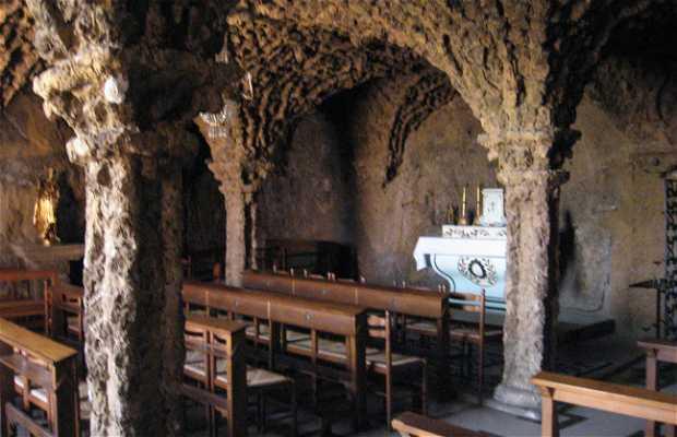 Cueva-capilla del sanctuario Saint-Jospeh de Bon Espoir